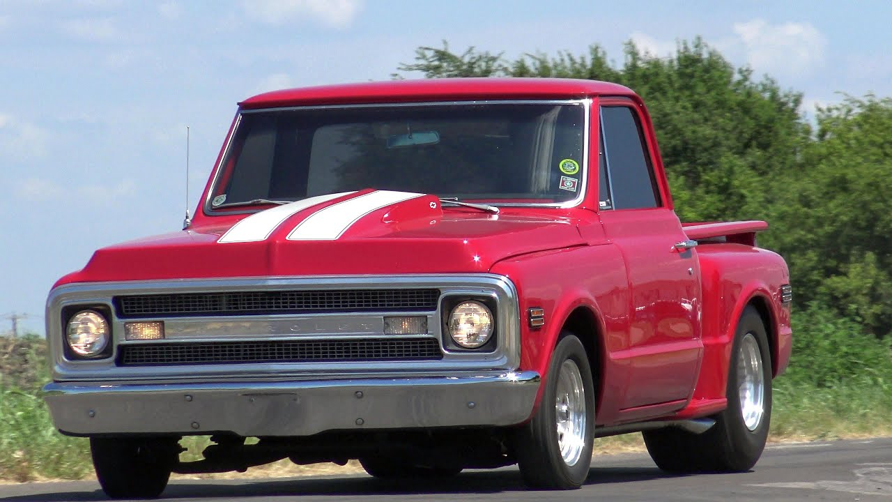 1969 chevy stepside pickup truck