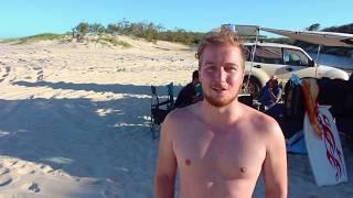 Am beach mit StevenOnTour