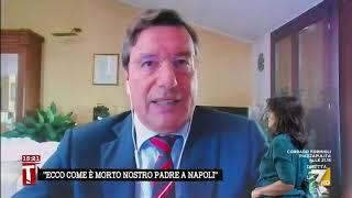 """Massimo de manzoni: """"de luca incommentabile, incomprensibile come sia stato rieletto"""""""