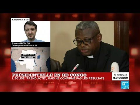 """RD Congo : """"Pour l'Église catholique, c'est aux candidats de prendre leurs responsabilités"""""""
