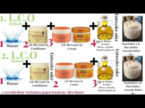 Schluss Mit Trockene Haare // Feuchtigkeitsversiegelung Mit  Der L.C.O Methode
