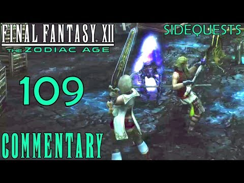 Final Fantasy XII The Zodiac Age Walkthrough Part 109 - Scathe & Whale Whisker In Lhusu Mines