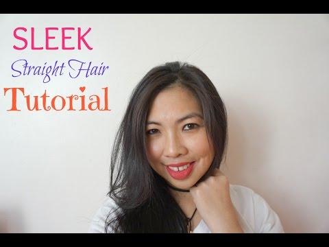 Sleek Straight Hair Tutorial  17f2ecd2e7