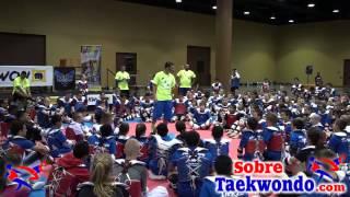 Taekwondo skill development & tactical training with Juan Moreno