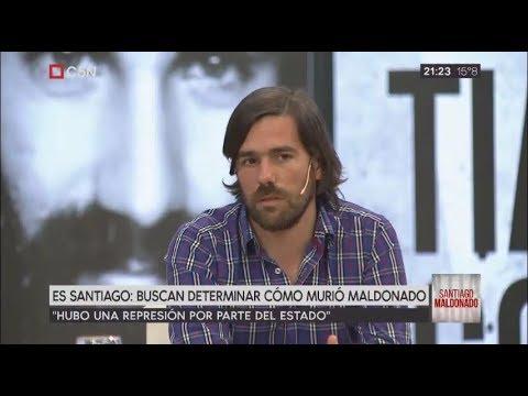 Nicolás del Caño en Remix de Noticias luego del acto del EMVYJ en Plaza de Mayo