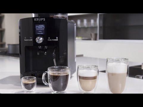 Кофемашина Krups EA826E   обзор