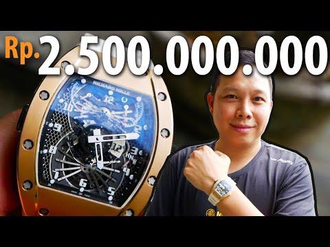 Jam Tangan Ini Seharga 2.500.000.000 | Review Richard Mille RM11 White Demon