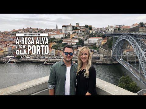 Douro Kreuzfahrt mit A-Rosa - Vlog#1: Olá Porto & A-ROSA Alva