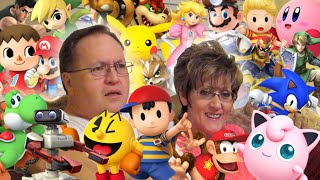 My Parents Identify Smash Bros Characters (Day 1984 - 5/1/15)