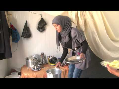 Hanadi - a young Syrian girl's life in refuge