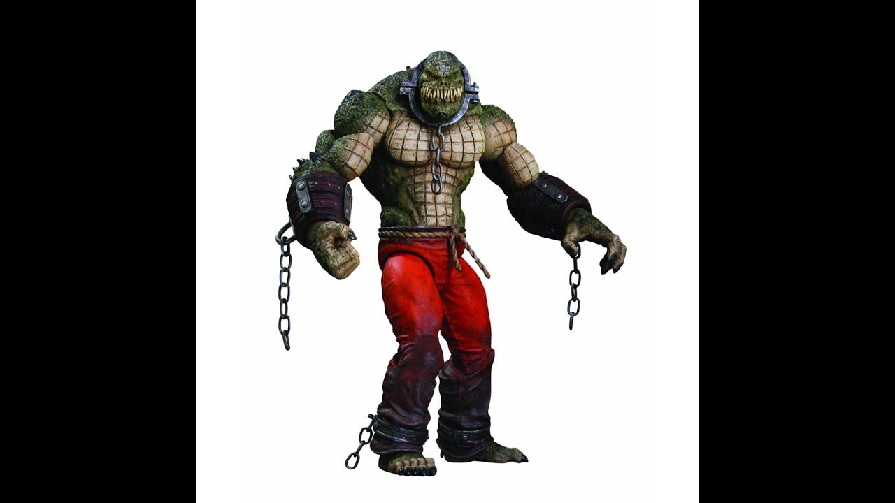 DC Direct Batman Arkham City Killer Croc HD Action Figure