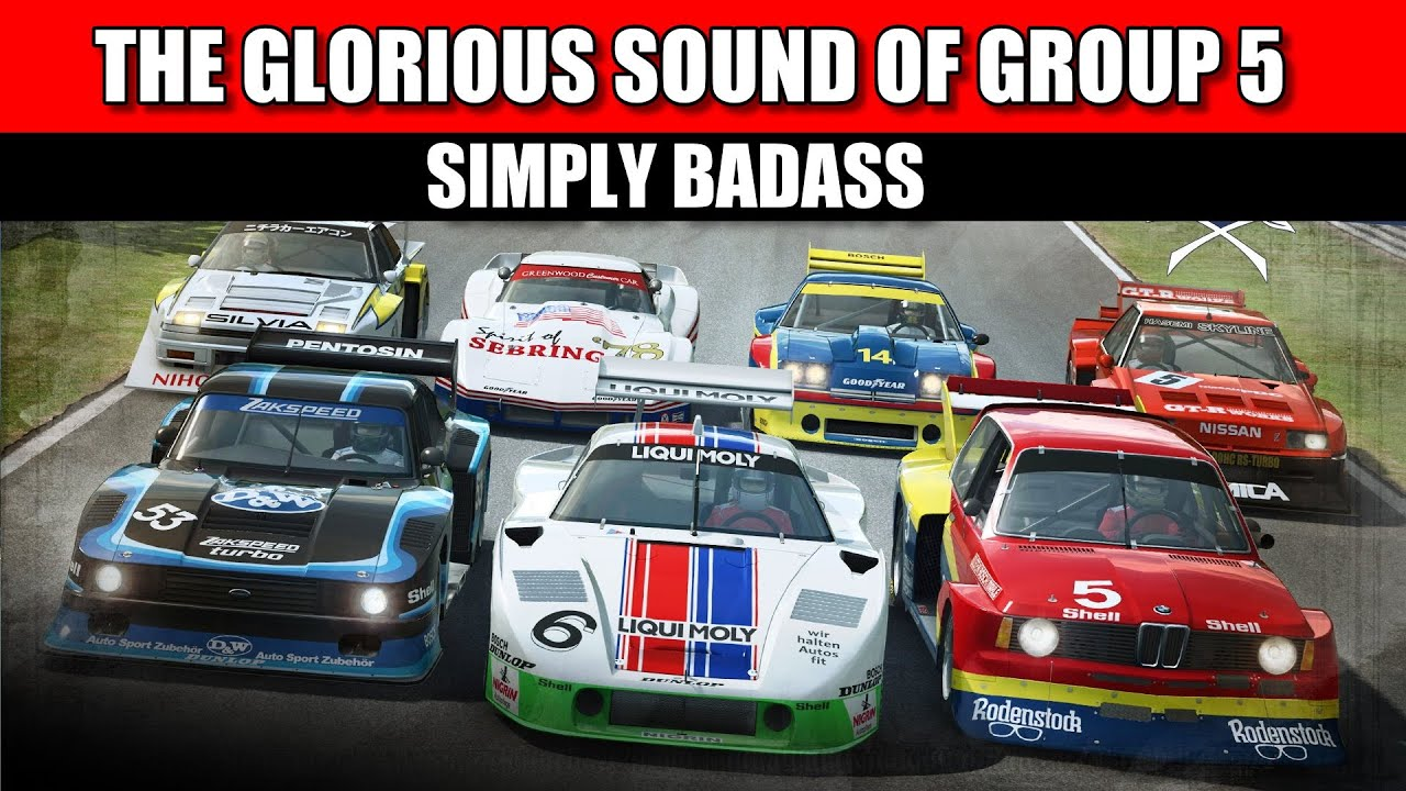 Raceroom Experience Badass Group Sounds Youtube