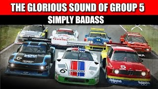 Raceroom Experience - Badass Group 5 Sounds