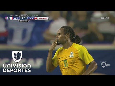 Roy Contout anotó el primer gol para Guayana Francesa en Copa Oro