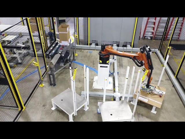 Robotic Case Erector & Case Load | Autotec Solutions