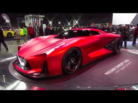 NISSAN CONCEPT 2020 Vision Gran Turismo - Exterior - Sapporo Motor Show 2016