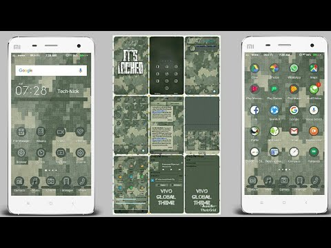 VIVO Phones Themes : Global MILITARY Theme | Vivo-Y53,Y51,Y31,Y55, |  FuntouchOS