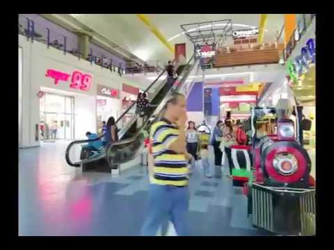A walk through Albrook Mall in Panama City, Panama.  September 03, 2016 6:00PM