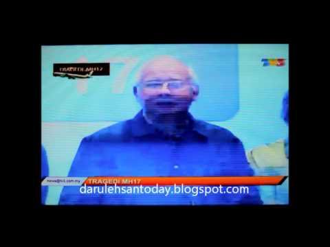 MH17: Sidang Media Perdana Menteri DS Najib Razak