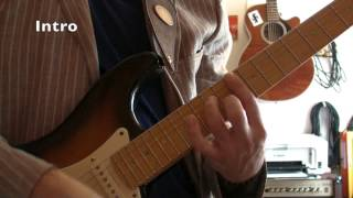 Long train running (Doobies Brothers) - Tuto guitare (Part 1/2) + TABS
