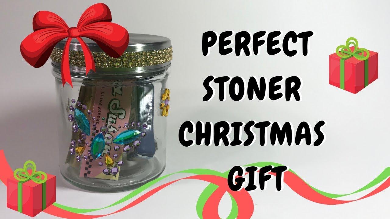 Diy Stoner Christmas Gift Idea Stuffed Stash Jar Youtube