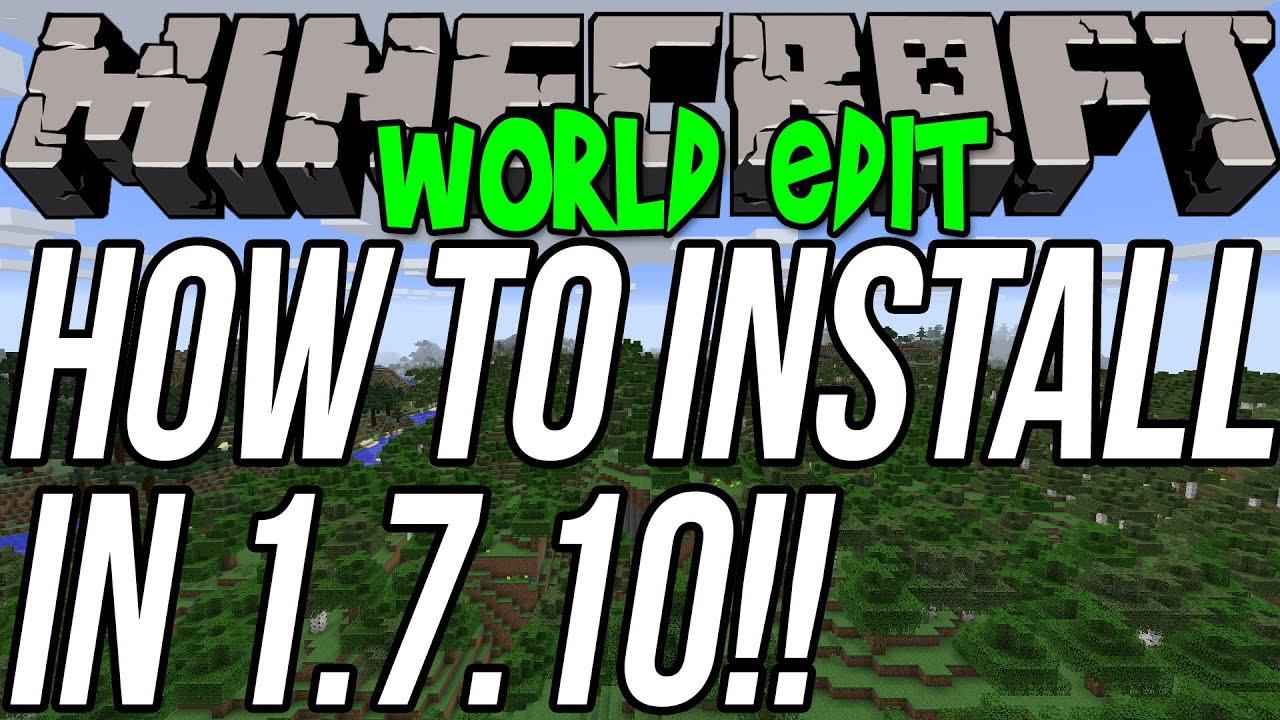 minecraft mcedit 1.7 10 download