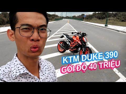 Mới mua KTM Duke 390 đã đem đi độ gần 40 triệu đồng   Vlog 97