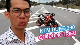 Mới mua KTM Duke 390 đã đem đi độ gần 40 triệu đồng | Vlog 97
