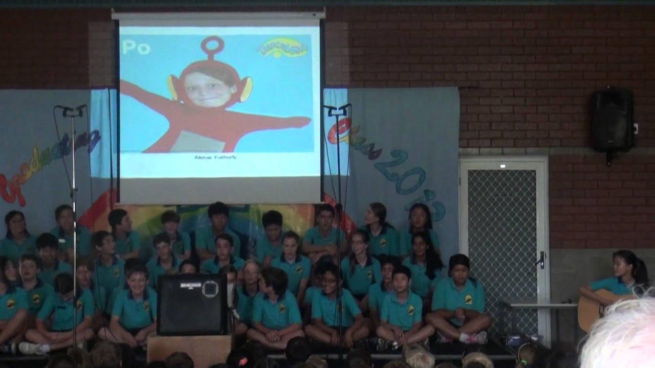 Churchlands Primary School Graduation 2013 Pt3 Youtube