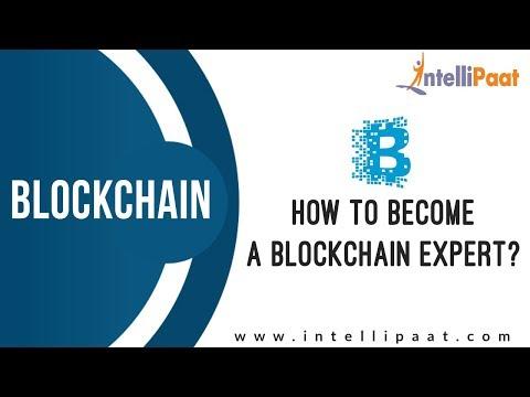How to become a Blockchain Expert? | Blockchain Expert Certification | Intellipaat