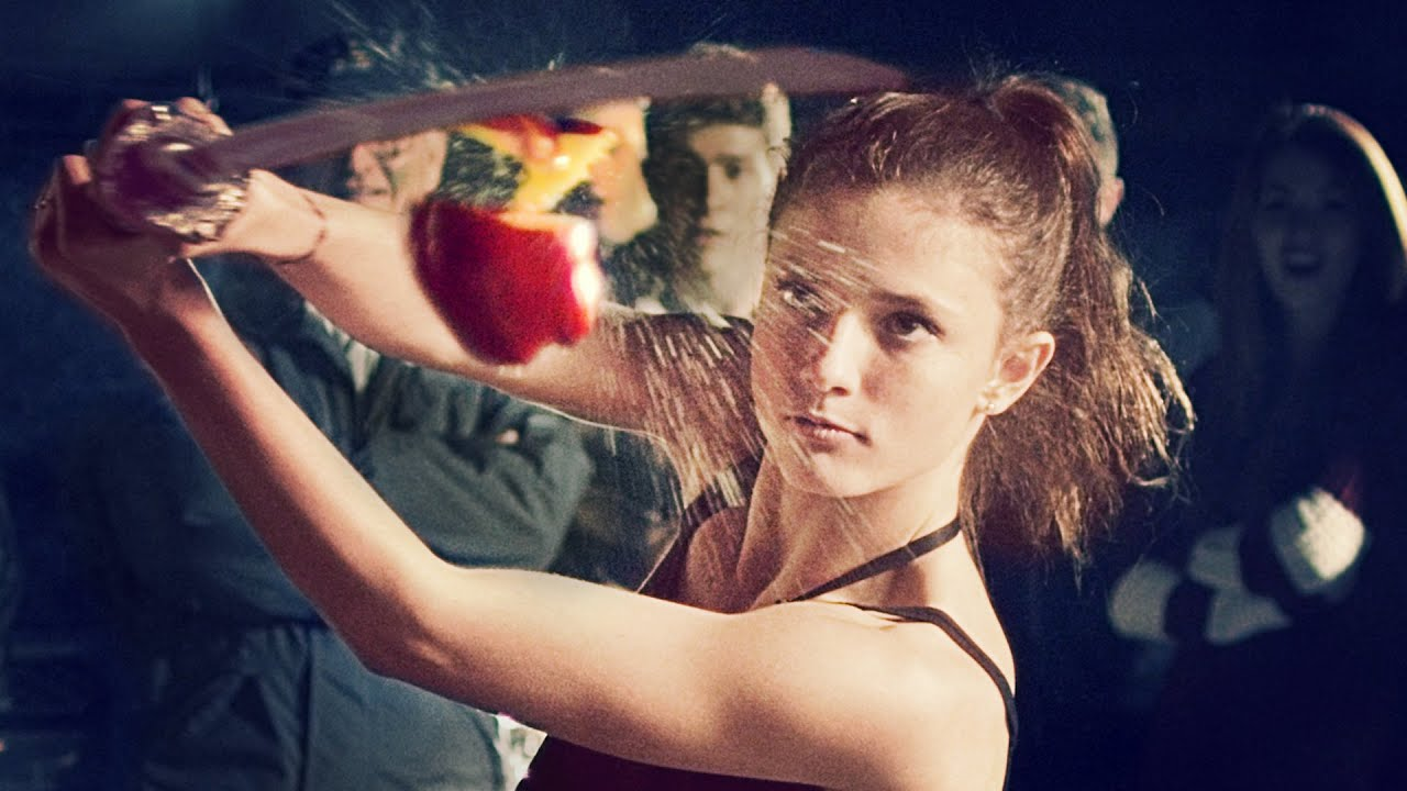 Wallpaper Cowboy Girl Fruit Ninja A Real Life Battle Scottdw Youtube