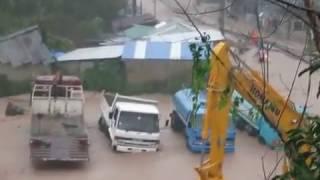 Floods Koh Tao, Thailand - Floods 5th Jan 2017 - Part 3