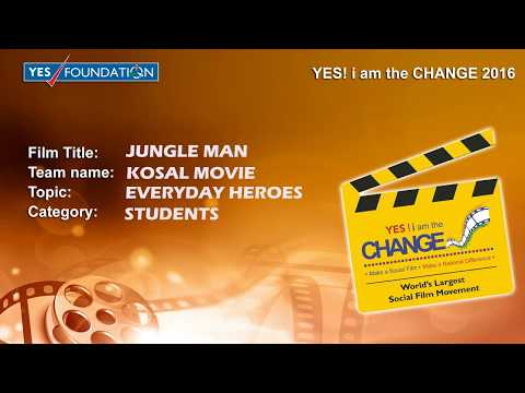 SAVE ENVIRONMENT | AMAZING PERSONALITY | THE JUNGLE MAN- SHORT MOVIE | ONLY ENTERTAINMENT