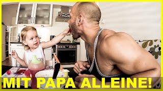 Mit Papa alleine - Flying Uwe