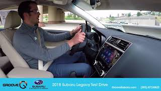 New 2018 Subaru Legacy 3.6R Limited Test Drive