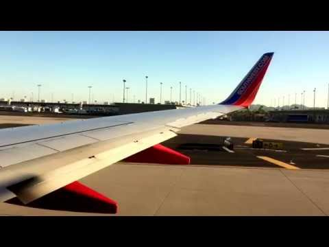 Takeoff From Phoenix Sky Harbor International Airport (PHX)- Southwest Airlines (HD) (60FPS)