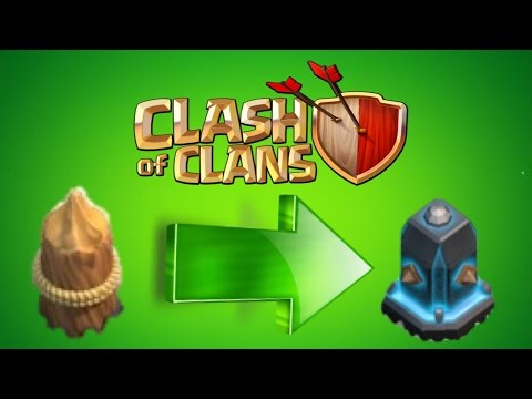 Clash of Clans - How To Upgrade Your Walls Fast & Simple! Great Strategy For TH6/7/8/9