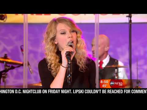 Taylor Swift - Interview + Love Story (Good Morning America 10.11.2008) HD-720P