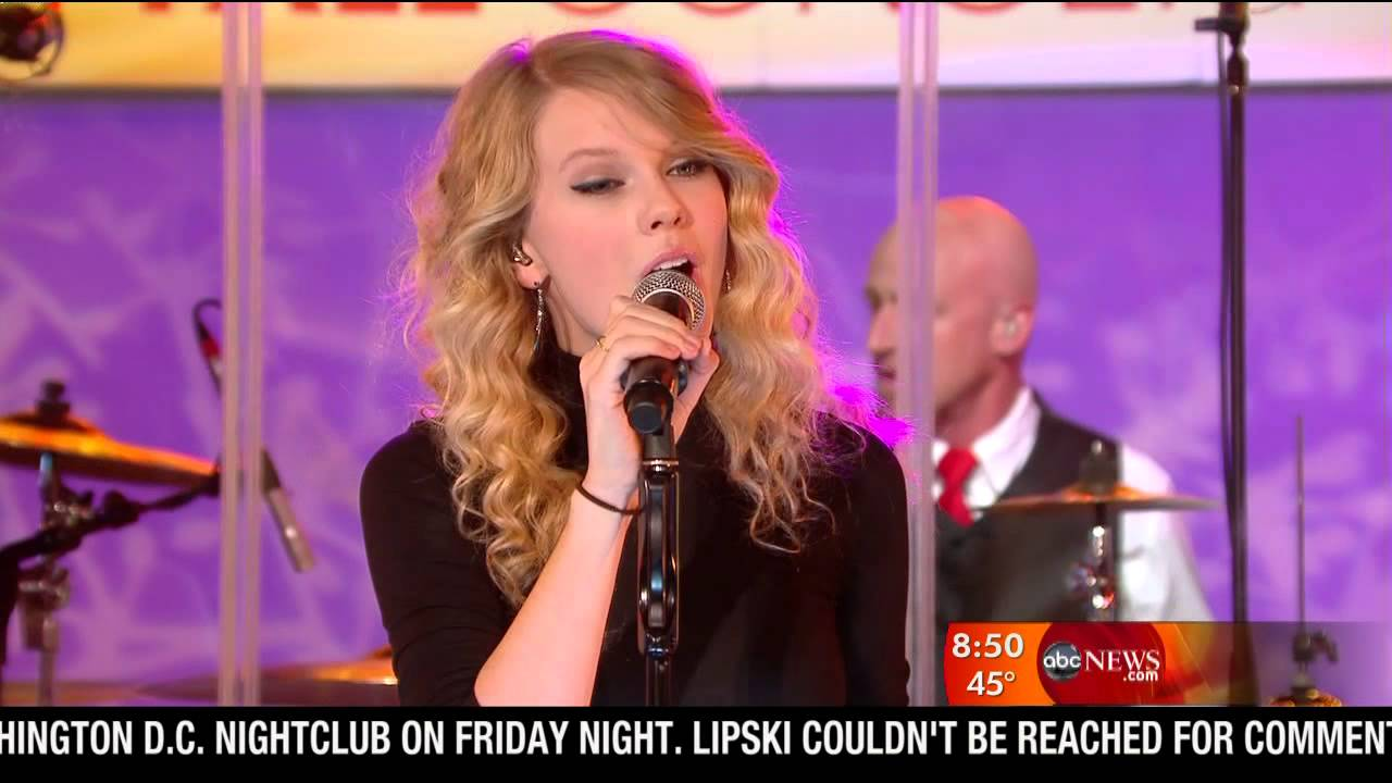 Good Morning America Intruder Interview : Taylor swift interview love story good morning