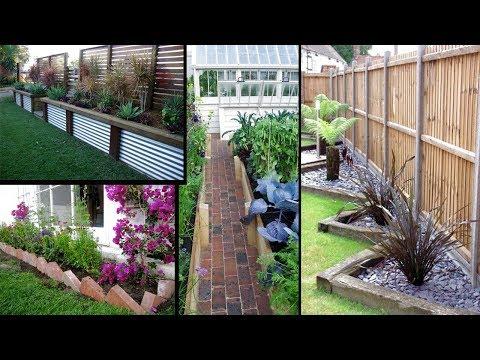 Brilliant Garden Edging & borders Ideas | Simple and Cheap Garden Edging Ideas For Your Garden