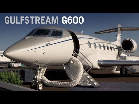 Tour Gulfstream's New G600 Business Jet – AINtv