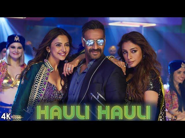 HAULI HAULI : De De Pyaar De | Ajay Devgn, Tabu, Rakul | Neha Kakkar, Garry S, Tanishk Bagchi Mellow