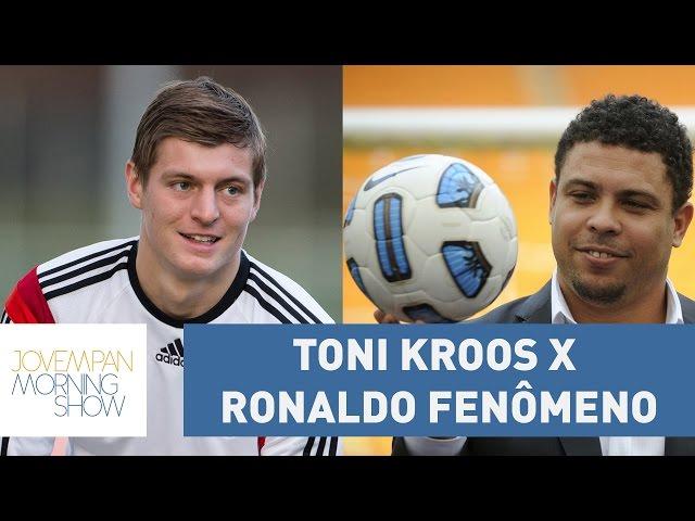 Toni Kroos x Ronaldo Fenômeno: quem levou a melhor na batalha virtual? | Morning Show