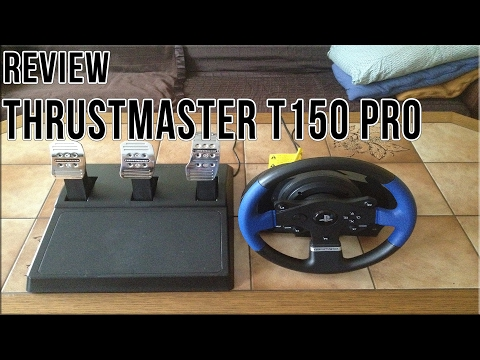 Review Thrustmaster T150 Pro [German/HD] - YouTube