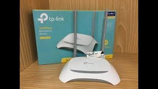 Wireless Router TP LINKTPLINK TL WR840N Speed 300Mbps