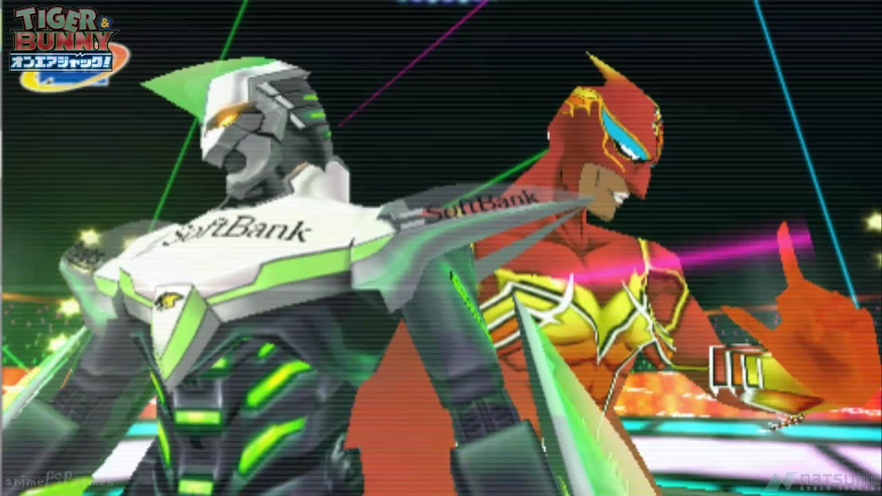 Fire Emblem Tiger And Bunny: Tiger & Bunny: On-Air Jack!