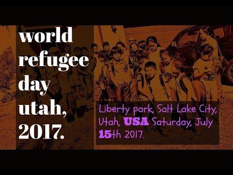 world refugee day Utah 2017