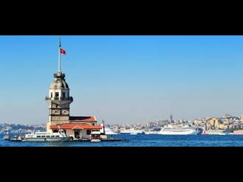 Maiden's Tower from Istanbul Turkey by MB Time to Rest Travel Holiday