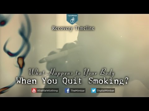 MUST SEE! What HAPPENS to Your Body When You QUIT SMOKING #Smoking