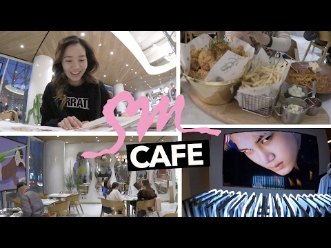 SM Entertainments Restaurant Cafe and K-Pop Store